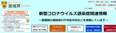 愛媛 コロナ関連状況 1月21日